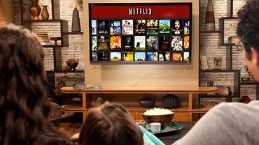 Netflix - największa internetowa wypożyczalnia filmów i seriali w USA