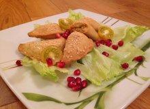 Apetyczne pierożki pieczone - ugotuj