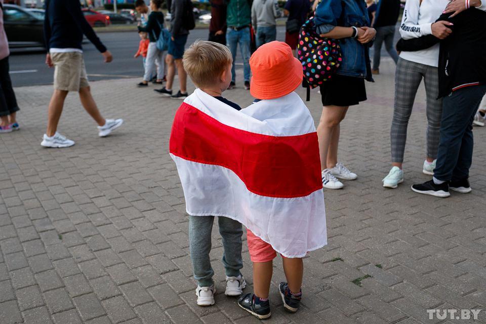 Protesty na Białorusi po sfałszowaniu wyborów prezydenckich przez reżim Aleksandra Łukaszenki
