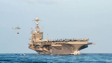 Lotniskowiec atomowy USS John C. Stennis