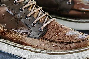 Skórzane sneakersy - idealne buty na jesień i zimę. Znane marki i super ceny