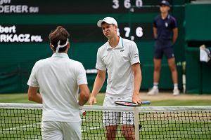"""Hubert Hurkacz doprowadził Federera do rozpaczy. """"Nie dziwię się"""""""
