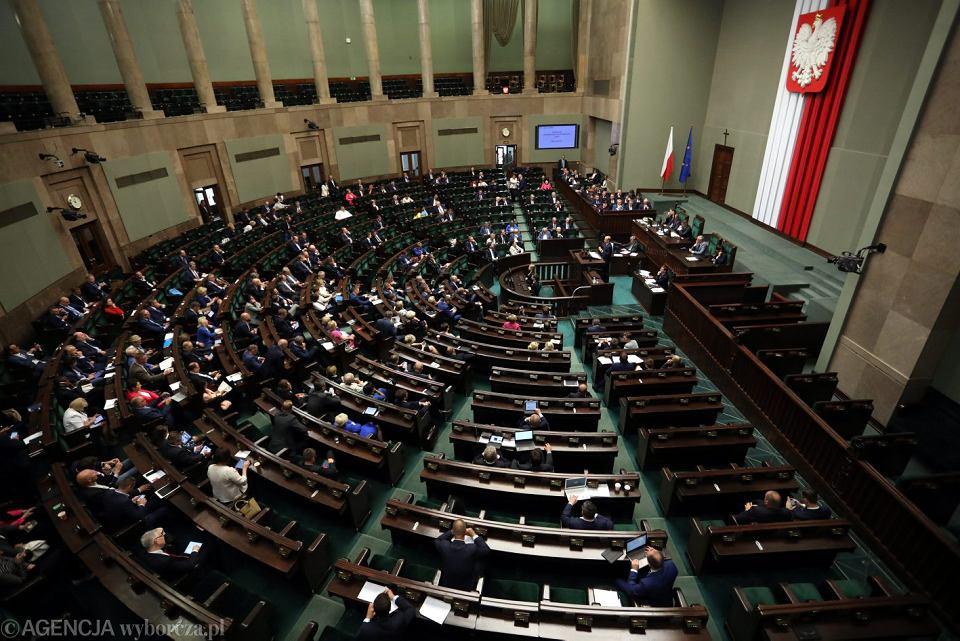 46 Posiedzenie Sejmu VIII Kadencji - pierwsze czytanie pisowskiej ustawy o ograniczeniu niezależności Sądu Najwyższego