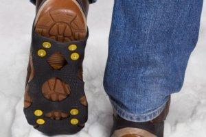 Sposoby na śliskie buty
