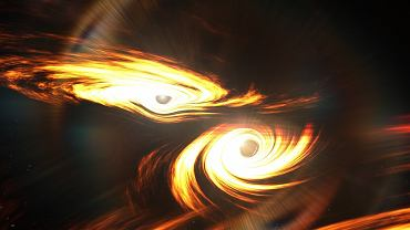 Naukowcy odkryli odległą czarną dziurę masy pośredniej. Zrobili to rejestrując fale grawitacyjne