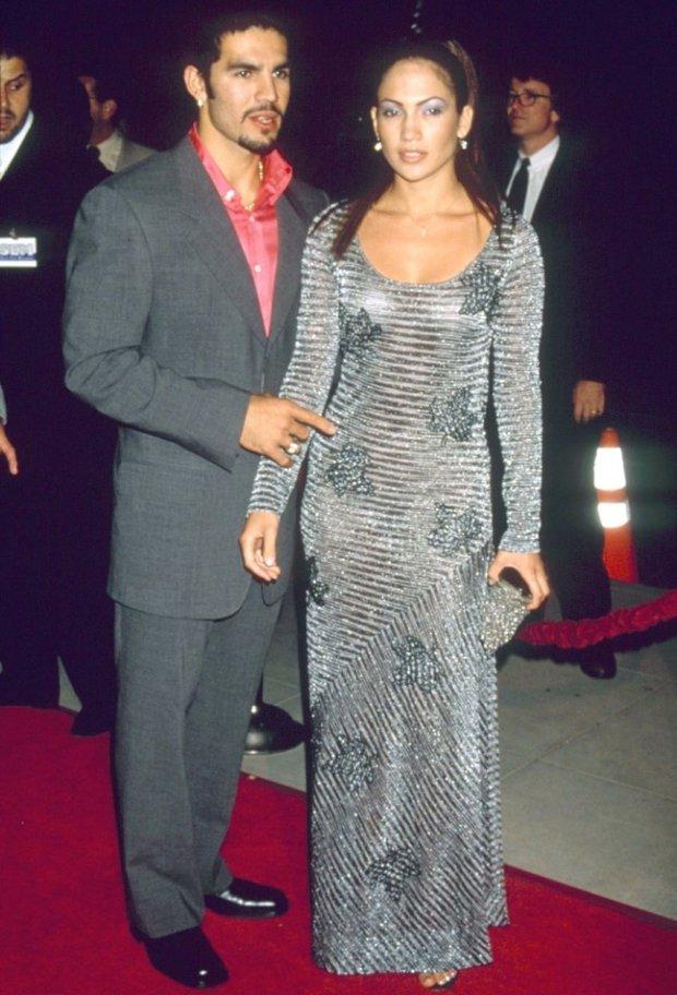 Ojani Noa i Jennifer Lopez w 1997 roku
