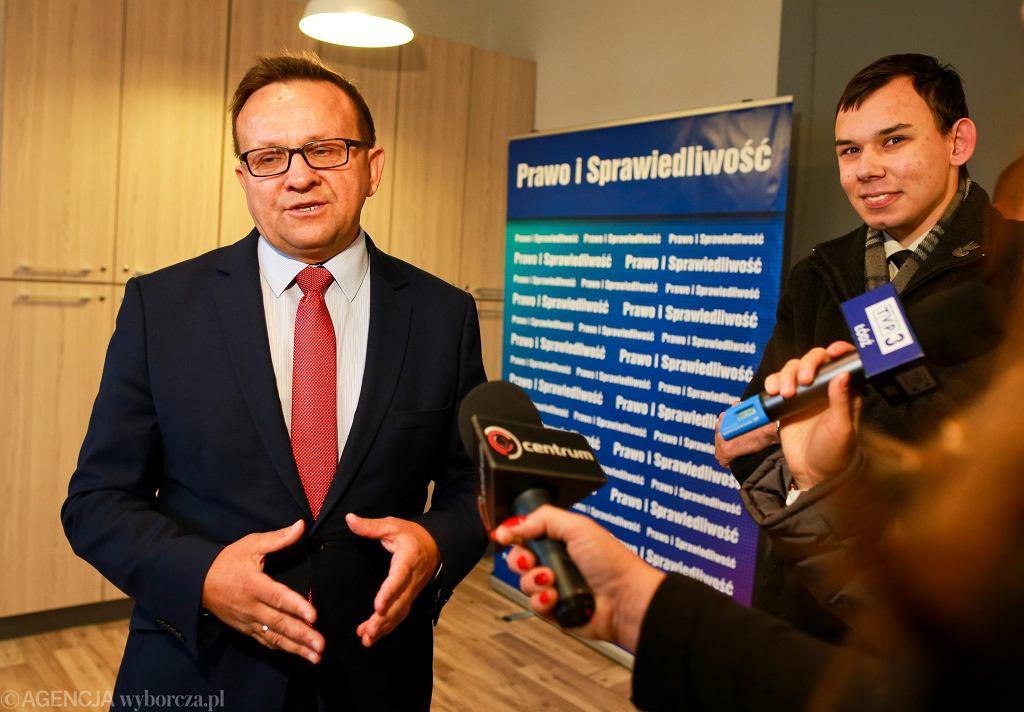 Poseł PiS Marek Matuszewski