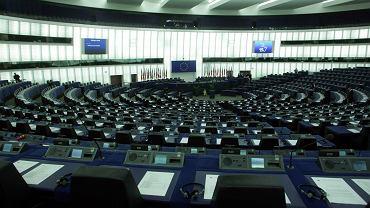 Sala posiedzeń Parlamentu Europejskiego