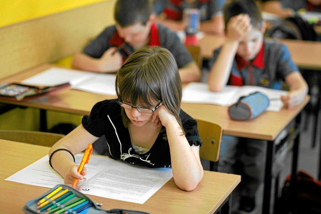 Egzamin kompetencji dla trzecioklasistów w Szkole Podstawowej nr 19 w Białymstoku