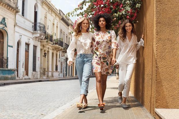 NIEBIESKA SUKIENKA H&M Poradnik Kobiety