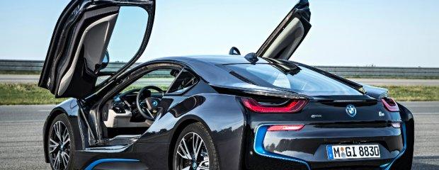 BMW i8 | Nowoczesny samochód za kosmiczne pieniądze