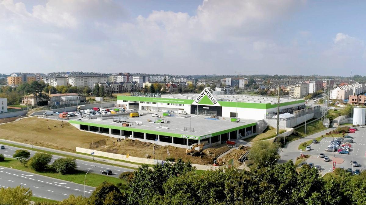Nowy Sklep Leroy Merlin W Katowicach Final Budowy Juz Za Kilka Miesiecy Zdjecia Katowice Nasze Miasto