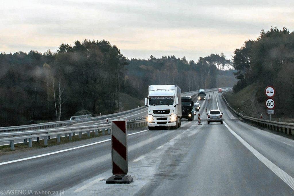 Droga S3. Zdjęcie ilustracyjne
