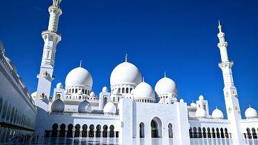 Zjednoczone Emiraty Arabskie - atrakcje: Wielki Meczet Szejka Zajida