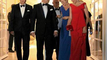 Para prezydencka razem z królem Filipem i królową Matyldą