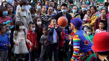 Chińscy turyści podczas Złotego Tygodnia