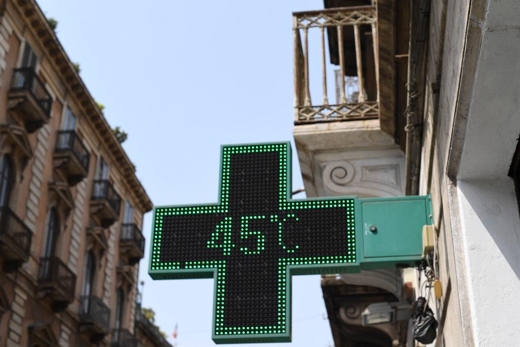 Italy Heat Wave