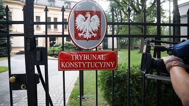 18.08.2020 Warszawa , aleja Szucha 12 , Trybunał Konstytucyjny
