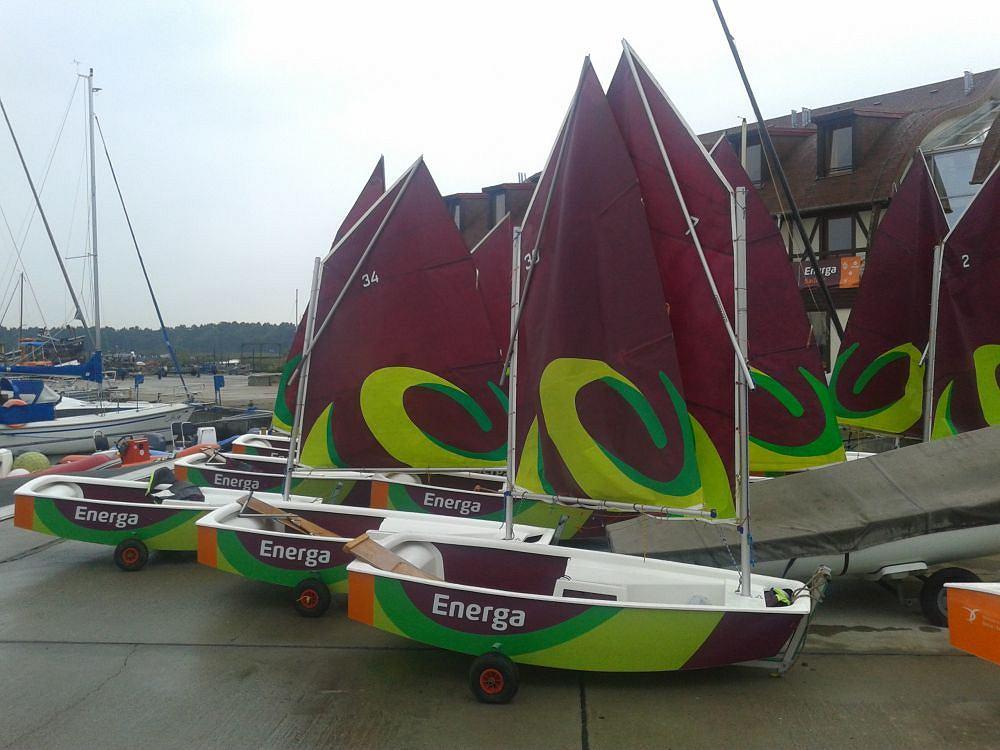 Optymistki Energa małych żeglarzy