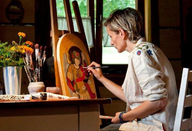 Twórcze Podkarpacie - malowanie ikon