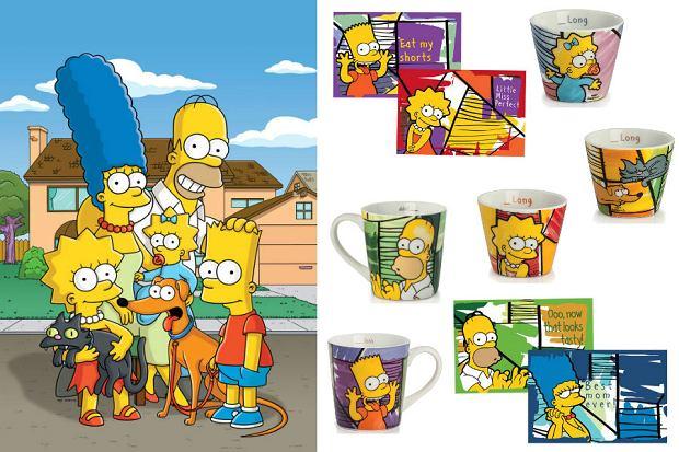 Kolaż / Gadżety The Simpsons / Materiały partnerów