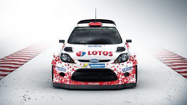 Po raz trzeci w historii nasz kraj będzie gospodarzem eliminacji Rajdowych Mistrzostw Świata. Rajd Polski rusza 26 czerwca i pojedzie w nim m.in. Robert Kubica. Polski kierowca powalczy o poprawienie swojej 12. pozycji w klasyfikacji generalnej jadąc Fordem Fiesta RS WRC w całkiem nowych - polskich - barwach.