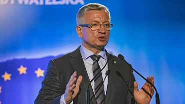 13 października 2018 r. Prezydent Poznania Jacek Jaśkowiak podczas konwencji regionalnej Koalicji Obywatelskiej