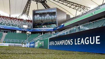 Stadion Legii przed meczem ze Steauą w 2013 r.