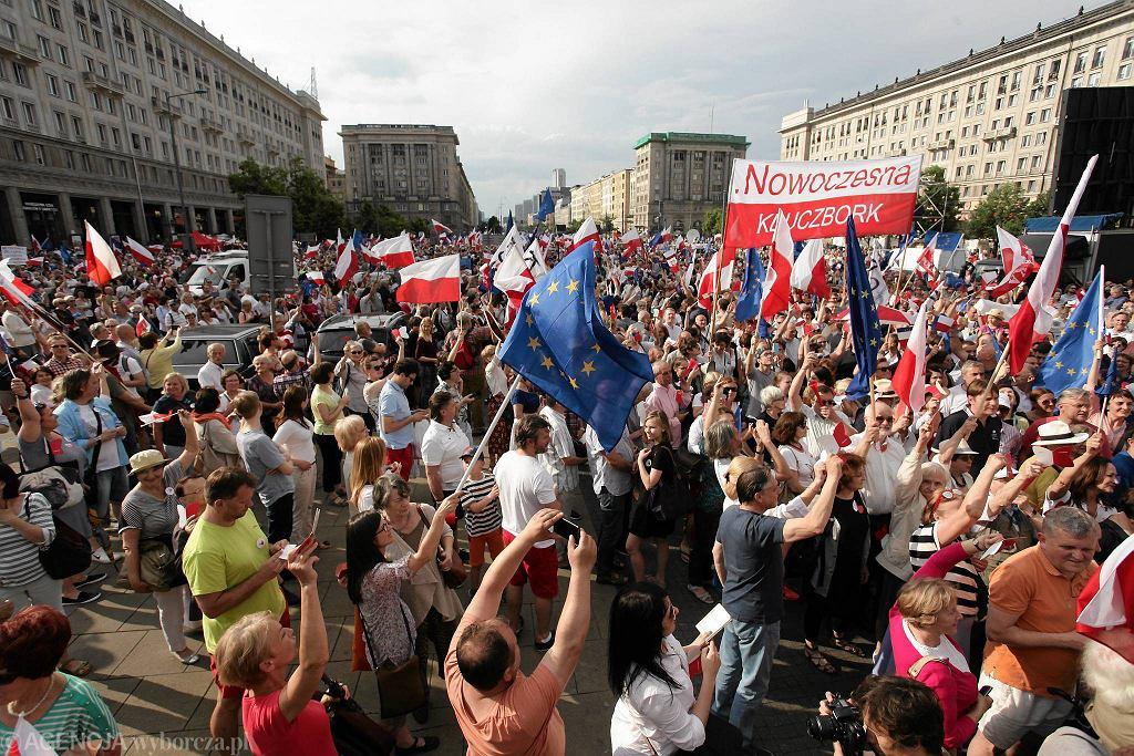 Marsz KOD ''Wszyscy dla Wolności