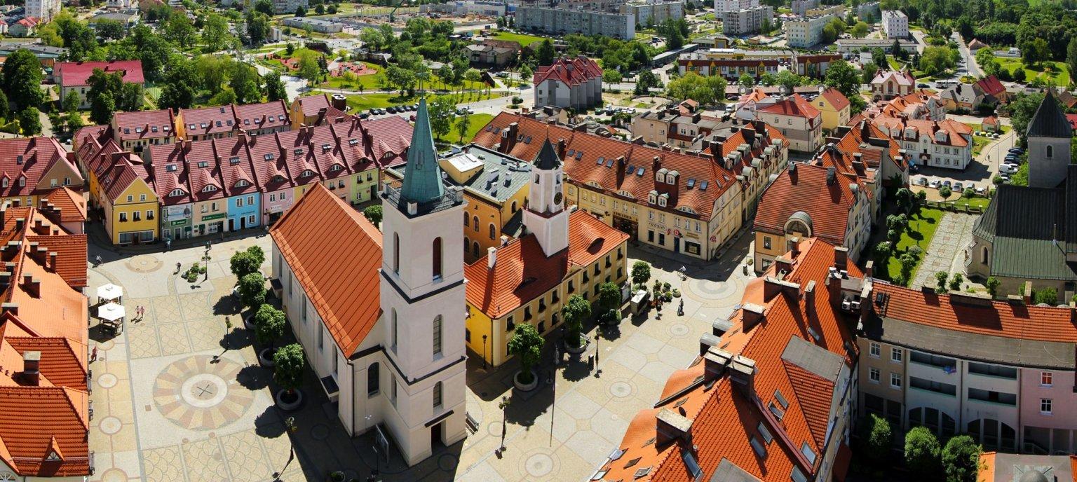Starówka w Polkowicach