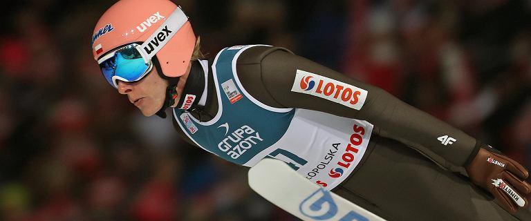 Skoki narciarskie. Klasyfikacja generalna Pucharu Świata. Dawid Kubacki spadł!