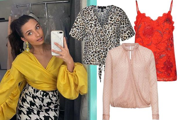 bluzki damskie na imprezę / mat. partnera / www.instagram.com/juliawieniawa/