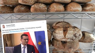 Premier był pytany o ceny chleba
