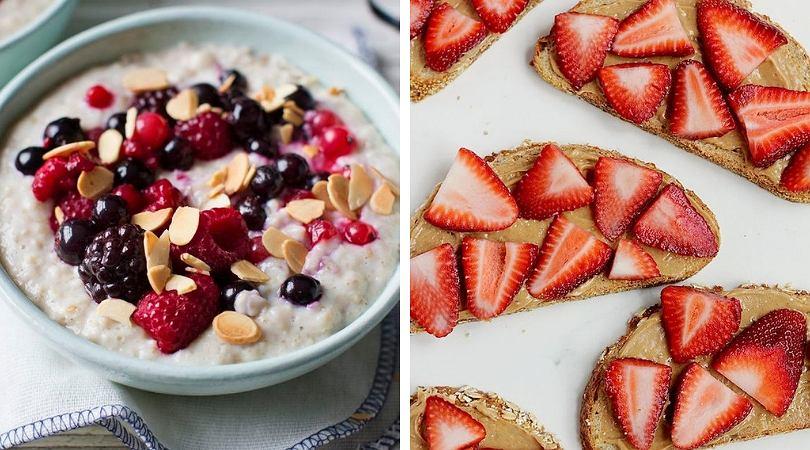 Śniadania na słodko wymagają obecności owoców!
