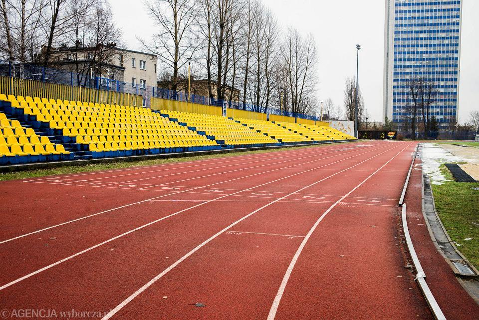 Stadion AWF przy ul. Kościuszki w Katowicach