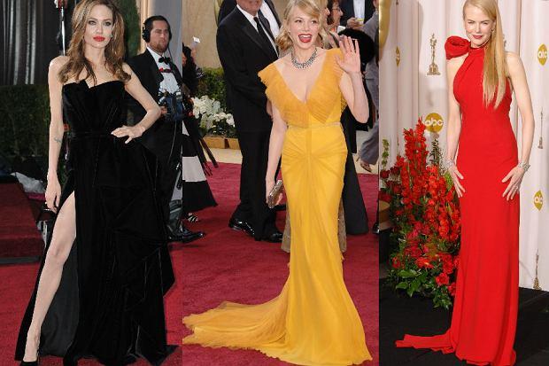 Od lewej: Angelina Jolie, Michelle Williams i Nicole Kidman