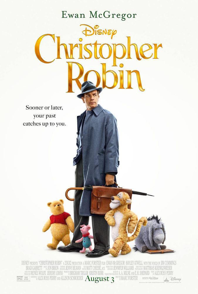 Plakat filmu 'Christopher Robin' ('Krzysiu, gdzie jesteś?') / Materiały promocyjne
