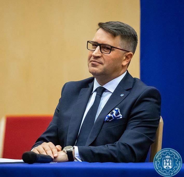Rektor Politechniki Poznańskiej, prof. dr hab. inż. Teofil Jesionowski