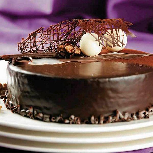 Tort orzechowy z Galicji