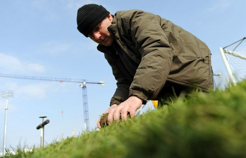 Greenkeeper Legii Tomasz Strzyga