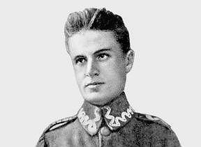 Zygmunt Janiszewski (1888-1920) w mundurze legionisty.
