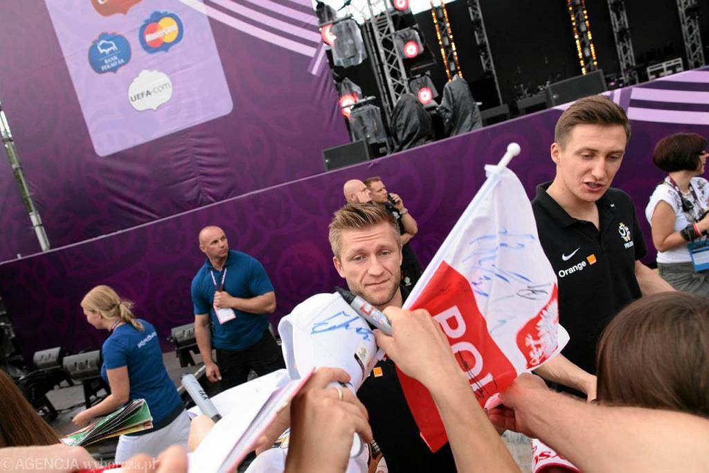 Polska kadra rozdawała autografy i pozowała do zdjęć