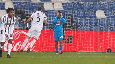 Lorenzo Insigne, Napoli - Juventus, karny