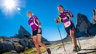 8. Gore-tex Transalpine Run, Magda Ostrowska-Dołęgowska i Krzysiek Dołęgowski byli jedynymi Polakami na tej ekstremalnej imprezie biegowej. Na zdjęciu zwyciężczynie klasyfikacji kobiecej.