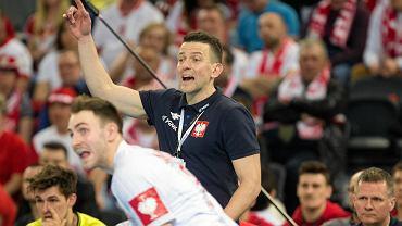Mecz piłki ręcznej Polska - Niemcy w Gliwicach w ramach eliminacji do mistrzostw Europy 2020