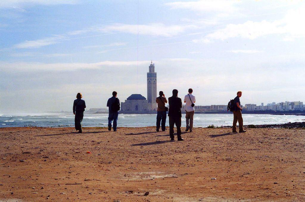 Maroko Casablanca - meczet Hassana