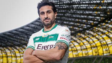 Nowy piłkarz Lechii Kenny Saief