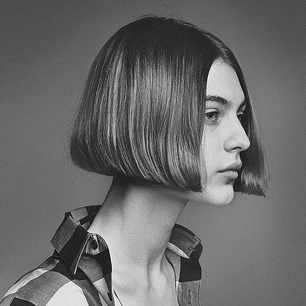 Dzieło słynnego fryzjera Guido Palau na łamach magazynu 'Interview', luty 2017