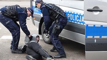 Ćwiczenia o kryptonimie 'Venkon' w Zakładzie Karnym w Białymstoku