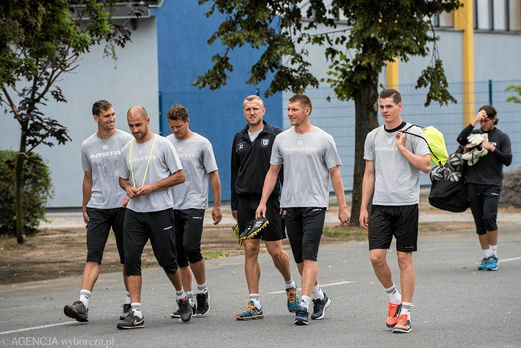 Od lewej: Szymon Lewicki, Krzysztof Nykiel, Tomasz Wełnicki, Łukasz Nawotczyński, Piotr Stawarczyk, Arkadiusz Gajewski